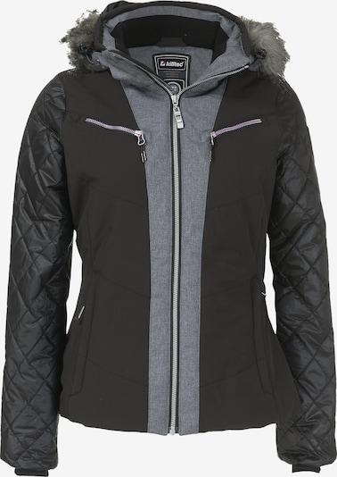 KILLTEC Skijacke 'Jade' in grau / schwarz, Produktansicht