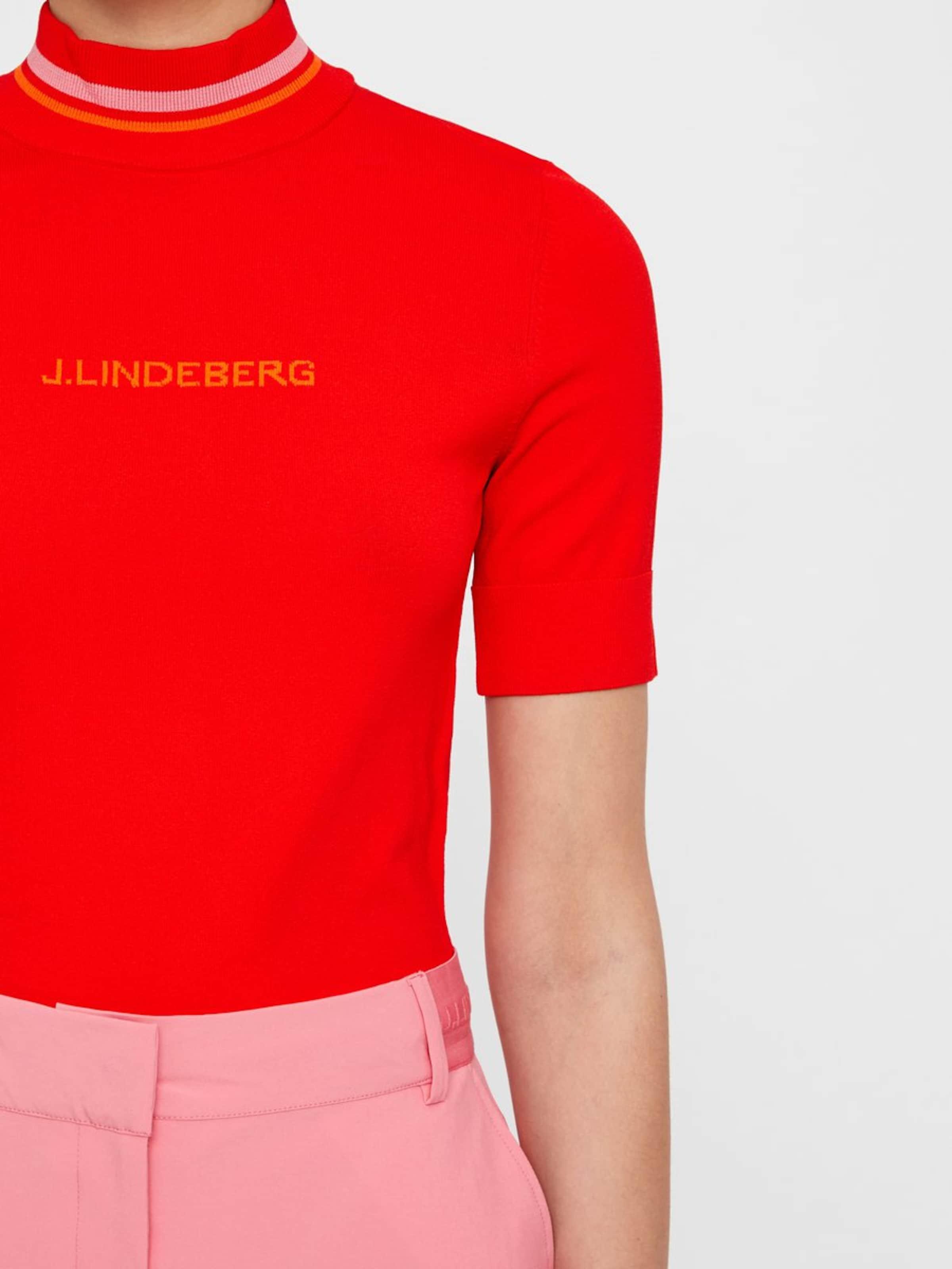 Clair 'selma' En shirt J OrangeRouge lindeberg T jLMGSzqUVp