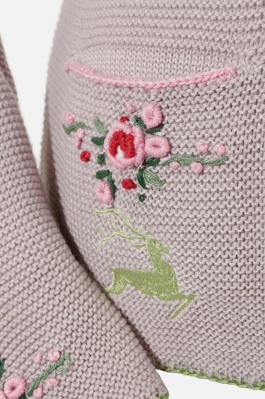 STOCKERPOINT Trachtenstrickjacke Damen mit Perlmuttknöpfe