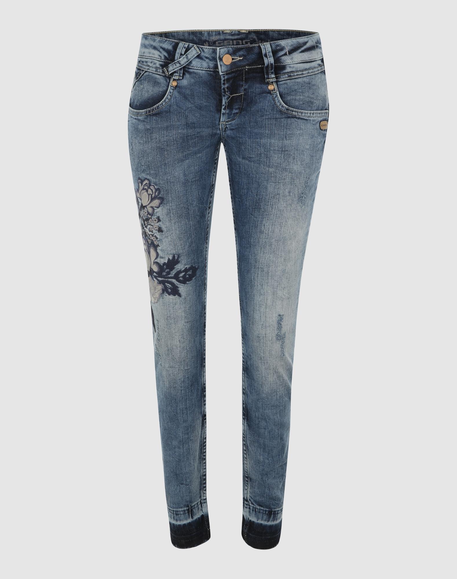 gang jeans 39 nena 39 in blau about you. Black Bedroom Furniture Sets. Home Design Ideas