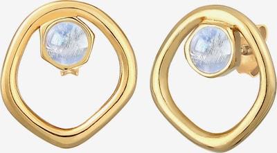 ELLI PREMIUM Boucles d'oreilles en jaune d'or / or / blanc naturel, Vue avec produit