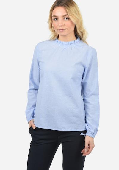Blend She Langarmbluse 'Anni' in blau, Modelansicht