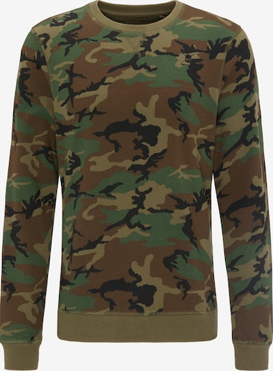 TUFFSKULL Sweatshirt in khaki / mischfarben, Produktansicht