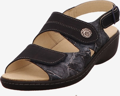Longo Sandale in gold / silbergrau / schwarz, Produktansicht