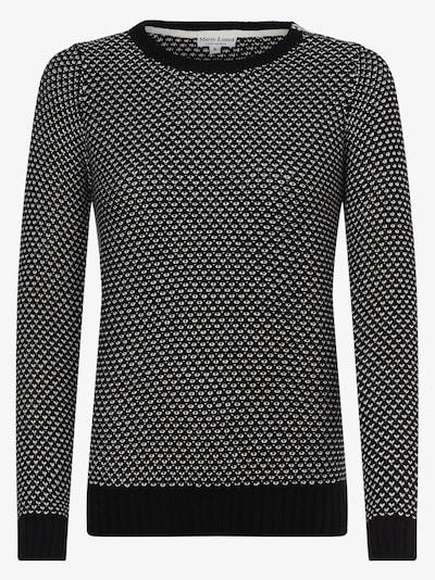 Marie Lund Pullover in schwarz / weiß, Produktansicht
