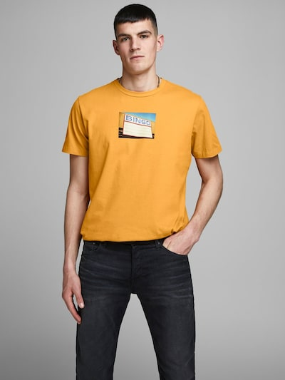 JACK & JONES T-Shirt en jaune: Vue de face