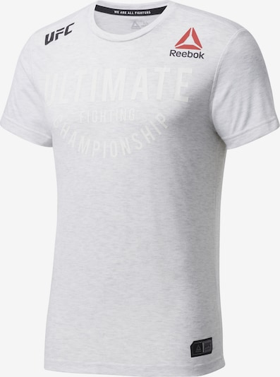 REEBOK Shirt 'UFC Fight Night Walkout' in rot / schwarz / weiß, Produktansicht