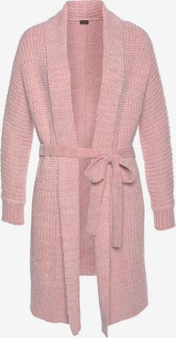 LASCANA Badekåpe lang i rosa