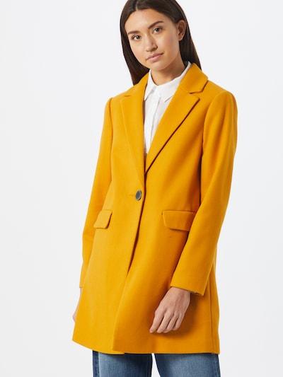 Dorothy Perkins Mantel 'MINIMAL' in gelb, Modelansicht