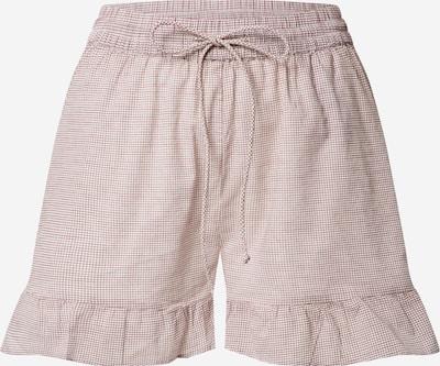 VERO MODA Shorts 'HADDY' in rot / weiß, Produktansicht