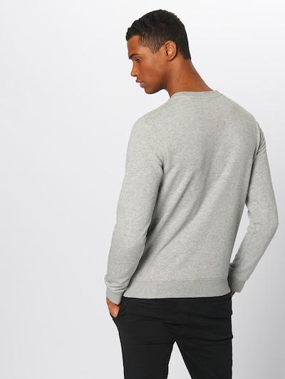 SCOTCH & SODA Sweat-shirt 'Clean sweat' en gris: Vue de dos