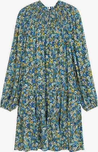 MANGO Kleid 'Valen' in blau / gelb / grün, Produktansicht