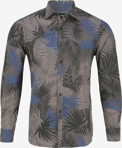 REPLAY Hemd BLACK LEAVES in grau / mischfarben, Produktansicht