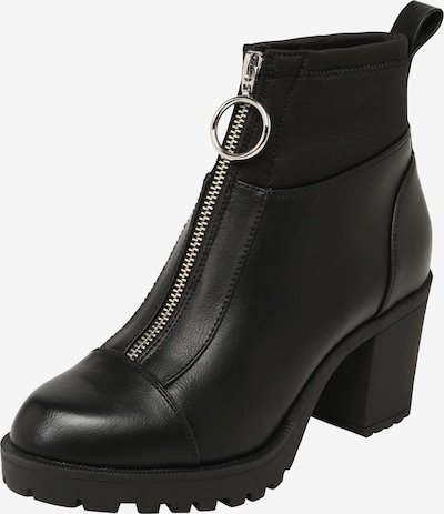 ONLY Bottines 'BARBARA' en noir: Vue de face