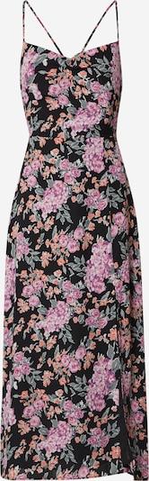Fashion Union Večerna obleka 'ALMOND' | roza / roza / črna barva, Prikaz izdelka