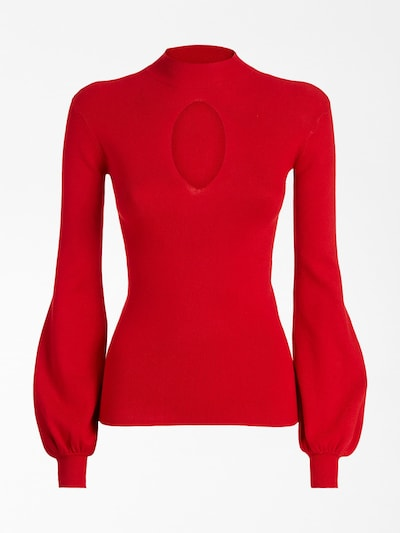 GUESS Pullover in rot, Produktansicht