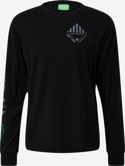Tricou 'T-JUST-LS-N60' DIESEL pe negru, Vizualizare produs