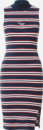 Tommy Jeans Sukienka w kolorze granatowy / białym: Widok z przodu
