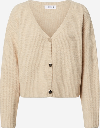EDITED Strickjacke 'Ronja' in beige, Produktansicht
