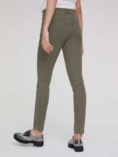 heine Jeans in oliv: Rückansicht