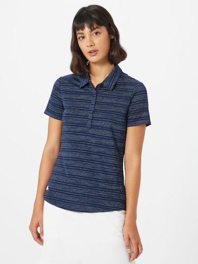 adidas Golf Shirt in dunkelblau / weiß: Frontalansicht