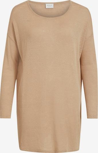 világos bézs VILA Oversize pulóver, Termék nézet