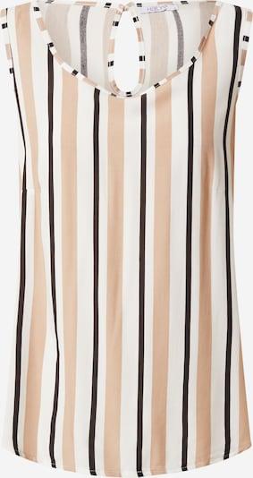 Hailys Top 'Robina' in beige / braun / schwarz, Produktansicht
