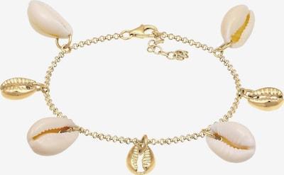 ELLI Bracelet en or / blanc: Vue de face