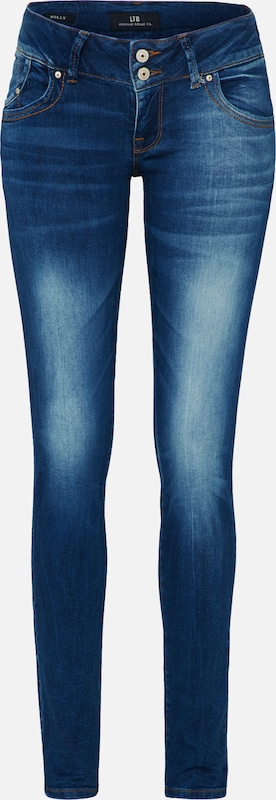 In Denim 'molly' Jeans Blauw Ltb 9I2HED