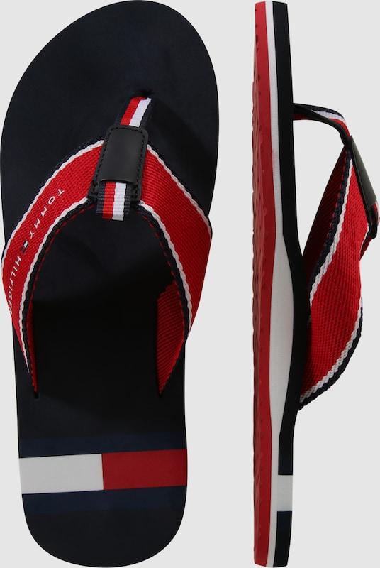 Haltbare Zehentrenner Mode billige Schuhe TOMMY HILFIGER   Zehentrenner Haltbare Schuhe Gut getragene Schuhe 56221e
