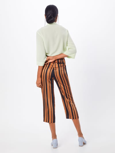 SOAKED IN LUXURY Pantalon 'Mollie' en marron / brun foncé: Vue de dos