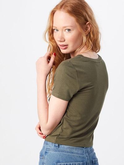 ONLY T-shirt en vert: Vue de dos
