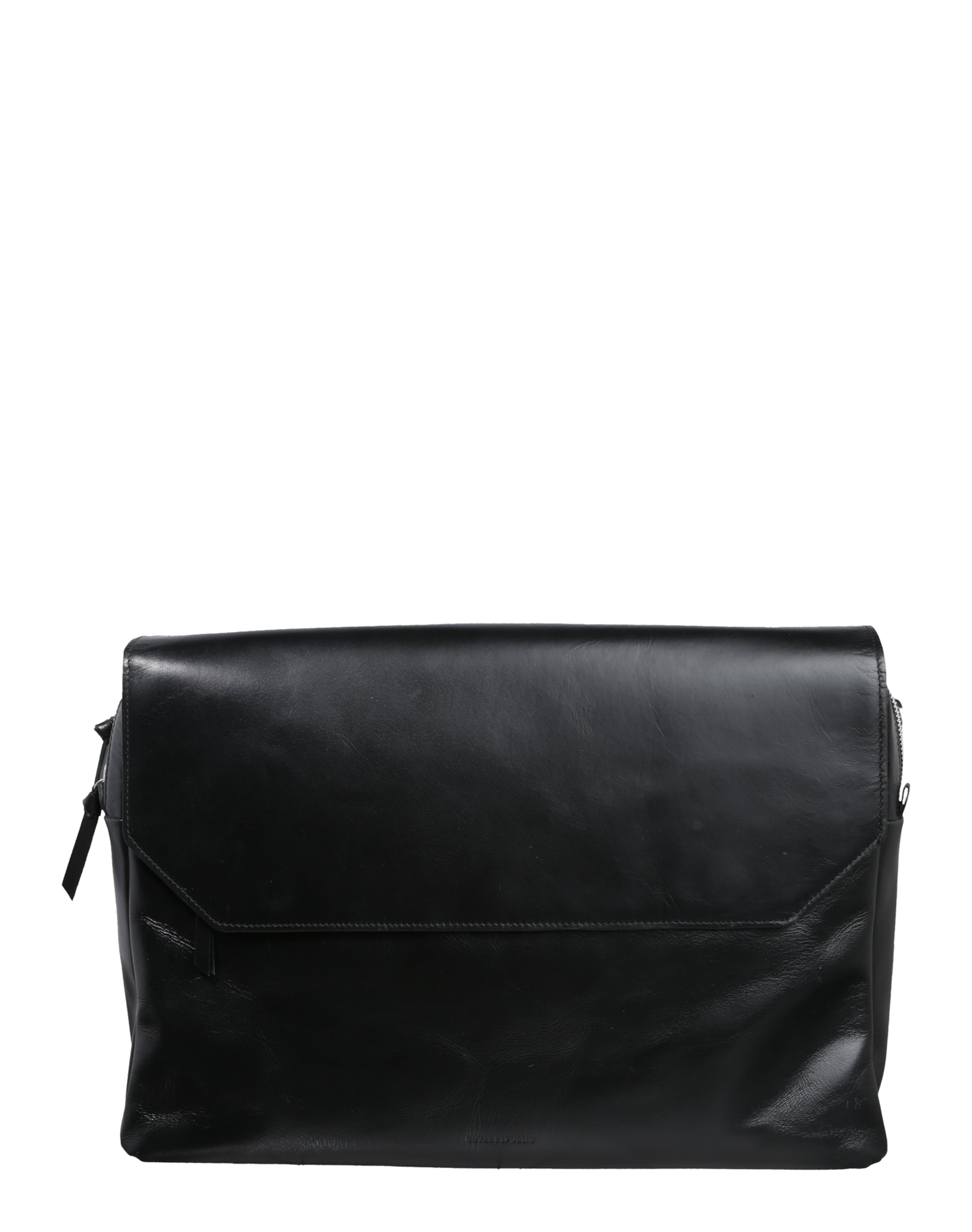 ROYAL REPUBLIQ Messenger Bag 'New Courier' aus Leder