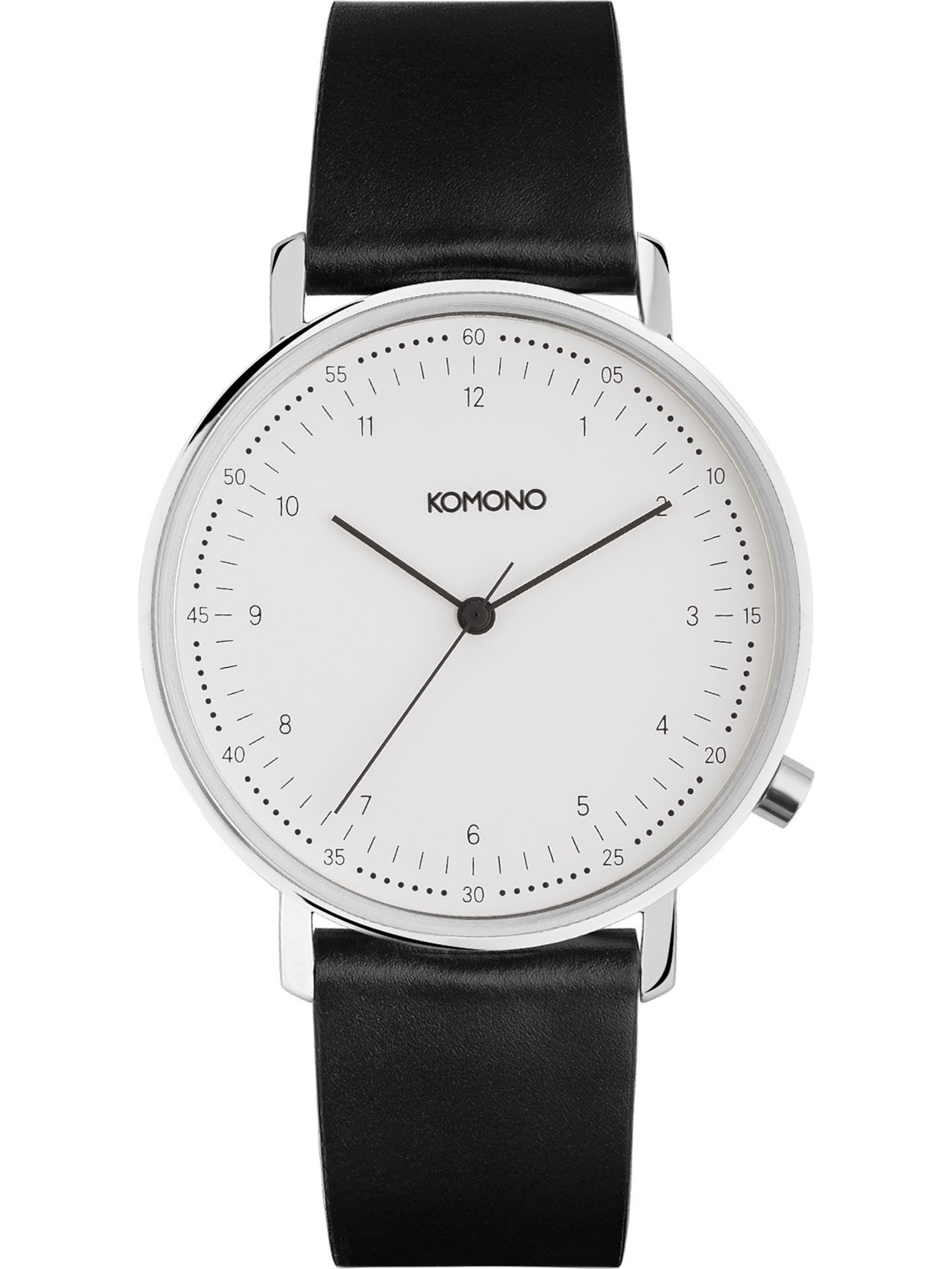 SchwarzWeiß Armbanduhr Komono In Komono Armbanduhr 'lewis' OnwX0ZNP8k