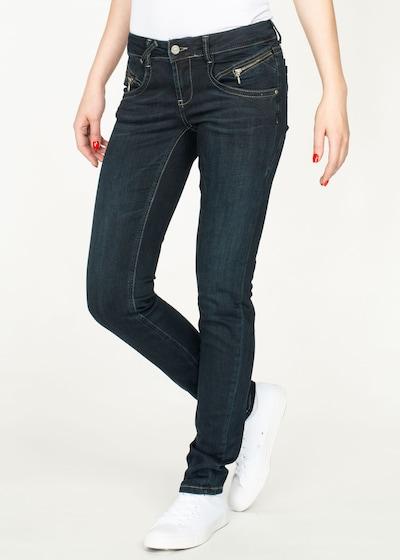 Miracle of Denim Jeans 'Maria' in dunkelblau, Modelansicht