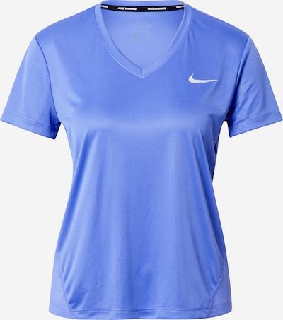 NIKE Functioneel shirt 'Miler' in de kleur Saffier, Productweergave