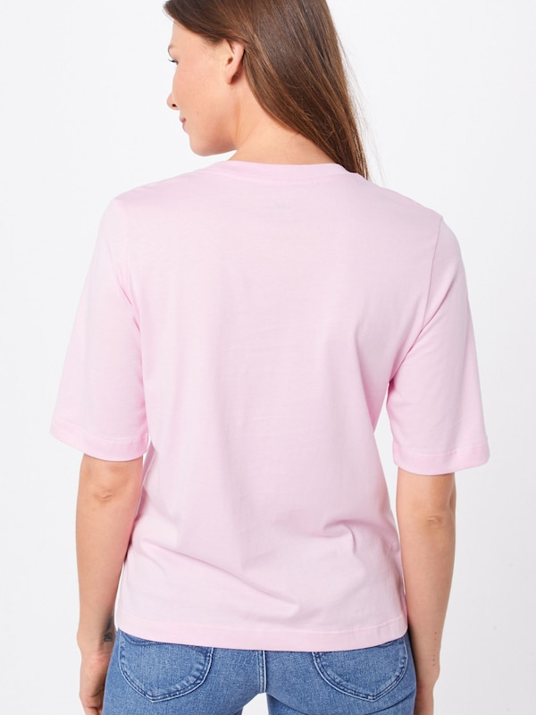 Lee Shirt 'LEE TEE' in pink: Rückansicht