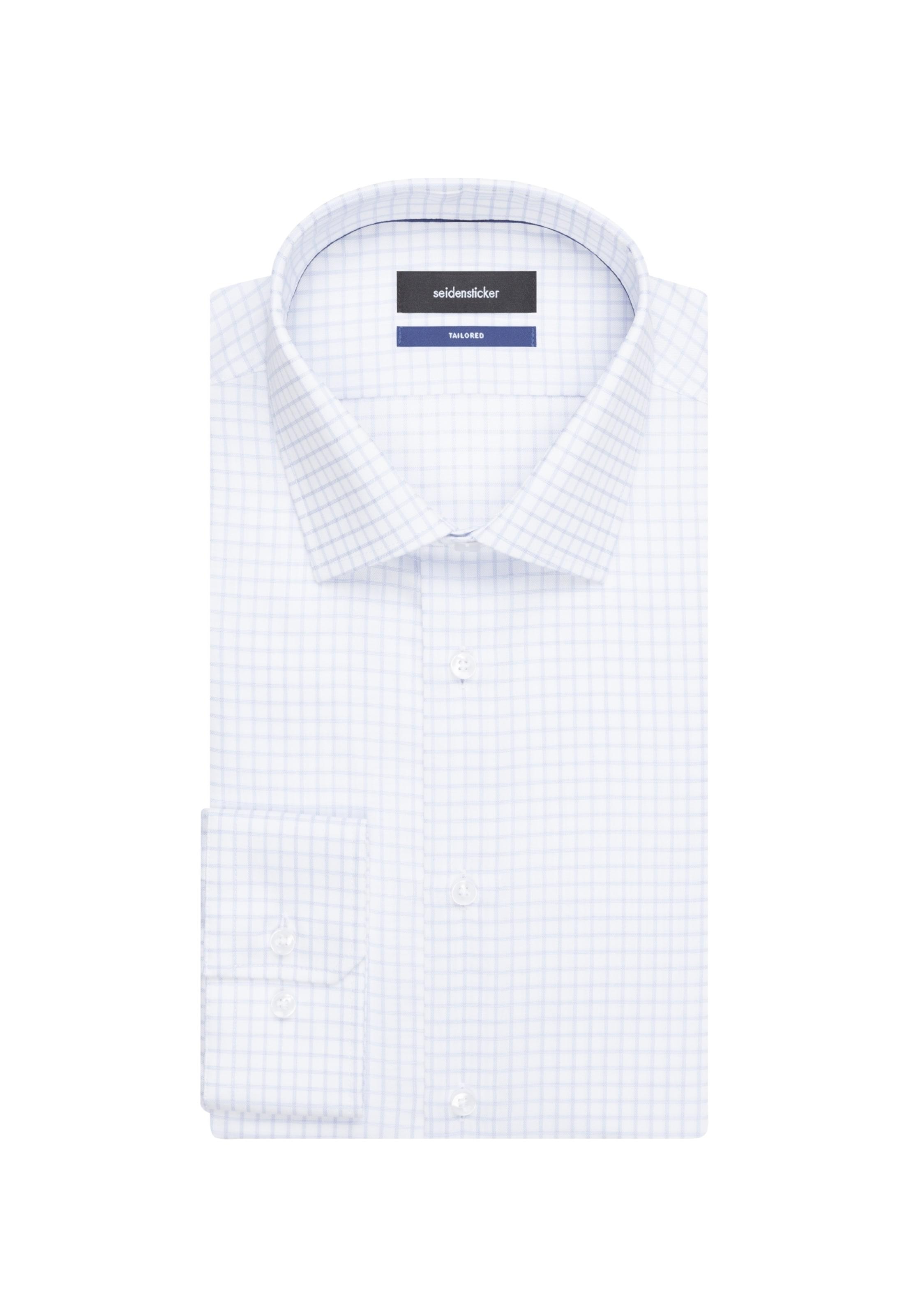 Seidensticker HellblauWeiß Seidensticker Hemd 'tailored' In ONkXn0w8P