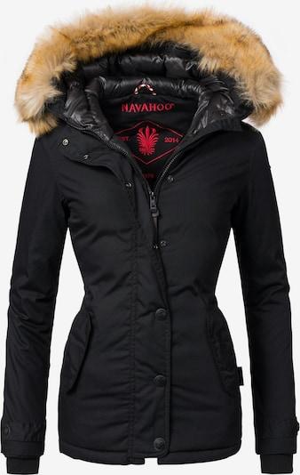 NAVAHOO Winterjacke 'Laura' in schwarz, Produktansicht