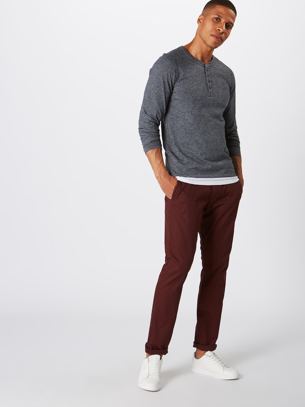 FoncéGris oliver Red Bleu 'langarmshirt' En T S Label shirt uTF5clK1J3