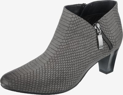GERRY WEBER Stiefelette 'Lena' in dunkelgrau / schwarz, Produktansicht