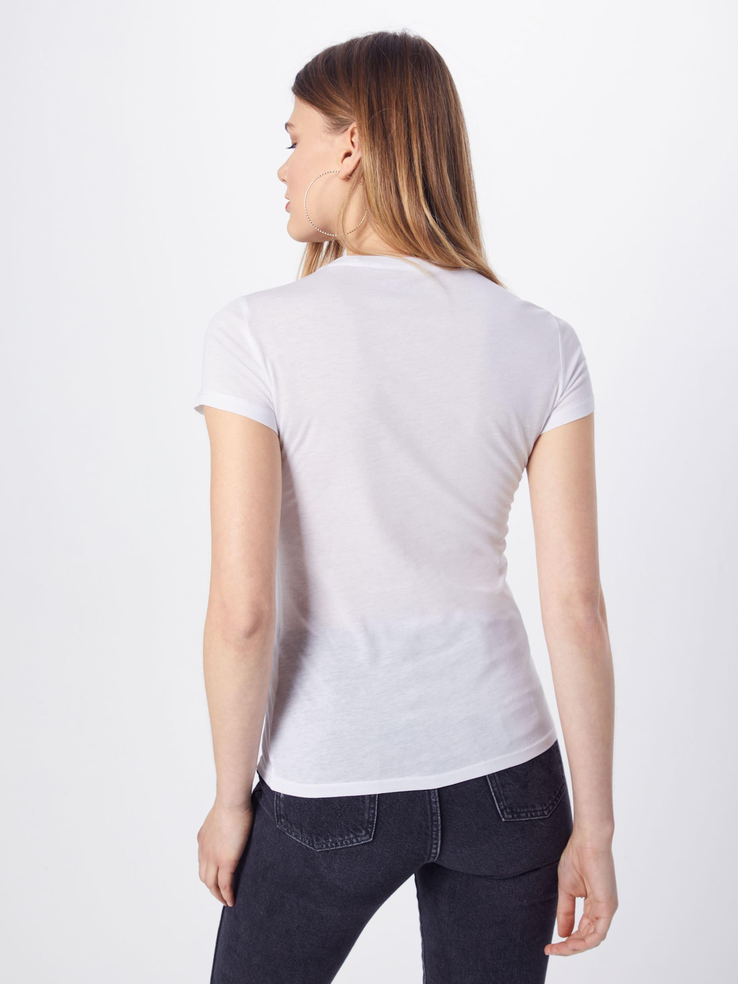 Shirt In Cn Guess Basic 'ss Weiß Tee' ZuOikPX