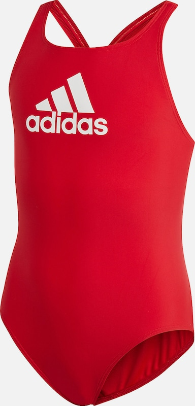 ADIDAS PERFORMANCE Badeanzug 'YA BOS SUIT' in rot, Produktansicht