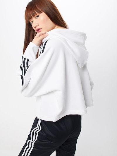 ADIDAS ORIGINALS Sweat-shirt en noir / blanc: Vue de dos