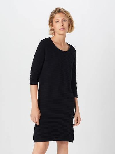MORE & MORE Knit dress in Black, View model