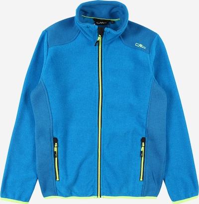 CMP Funkční flísová bunda - modrá / svítivě zelená, Produkt