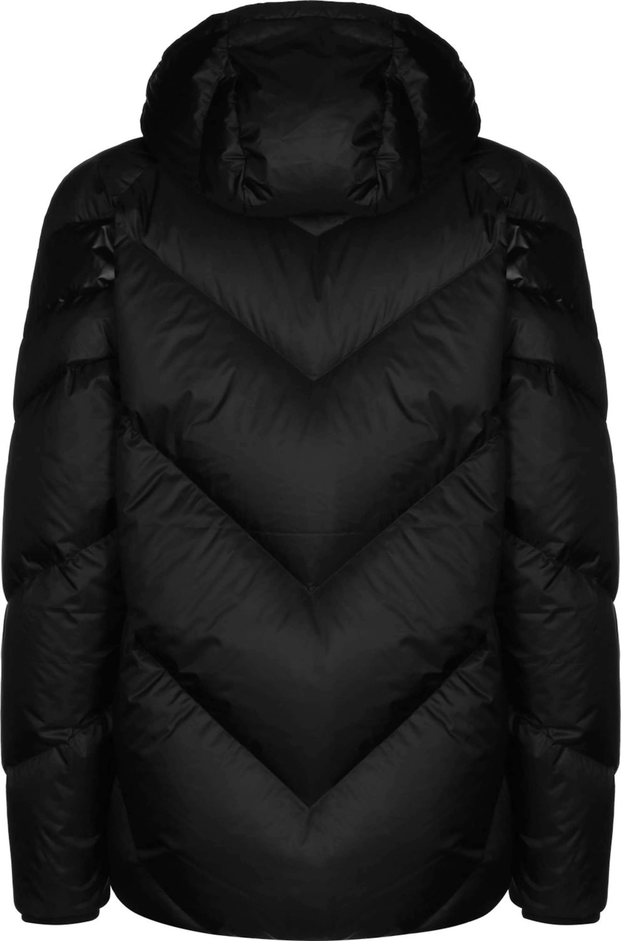 PUMA Daunenjacke ' MCS Shiny Puffer ' in schwarz Warm gefüttert KJ39697011