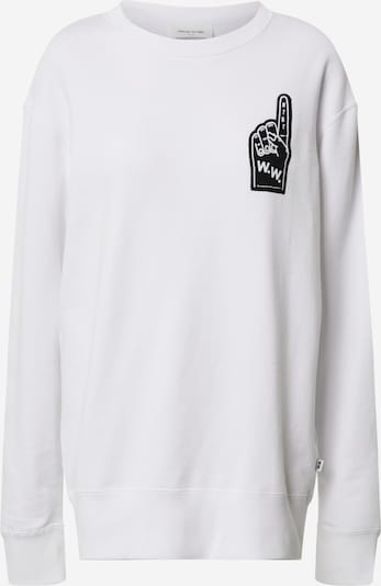 WOOD WOOD Sweatshirt 'Hugh' in weiß, Produktansicht