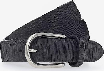 b.belt Handmade in Germany Gürtel 'Cuna' in schwarz, Produktansicht