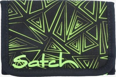 Satch pack Geldbörse 13,5 cm in grün, Produktansicht